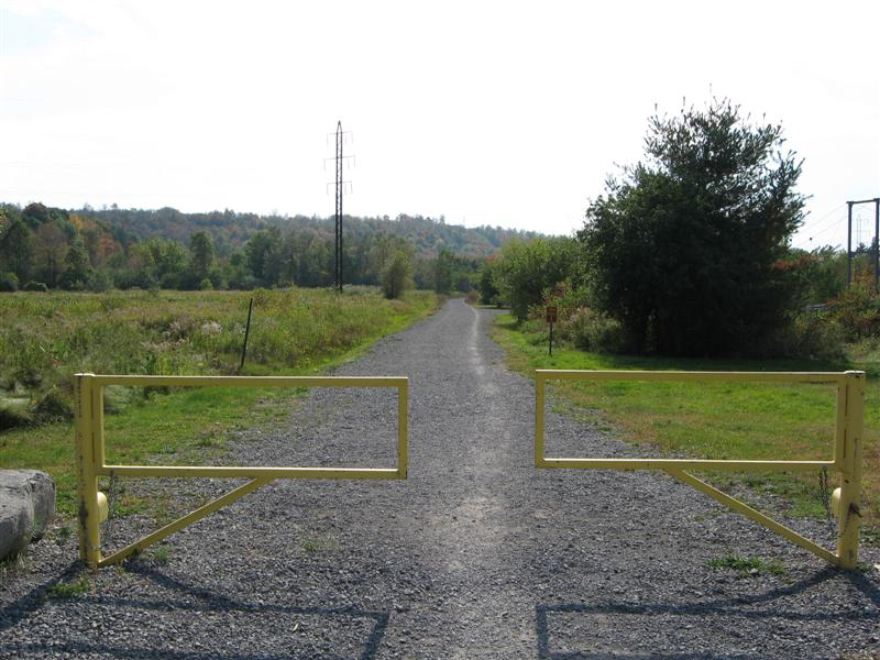 Gates at Black River End