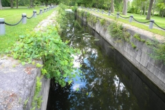 Photos of the Oswego Canal System lock at the park, near Wegman's Good Dog Park.