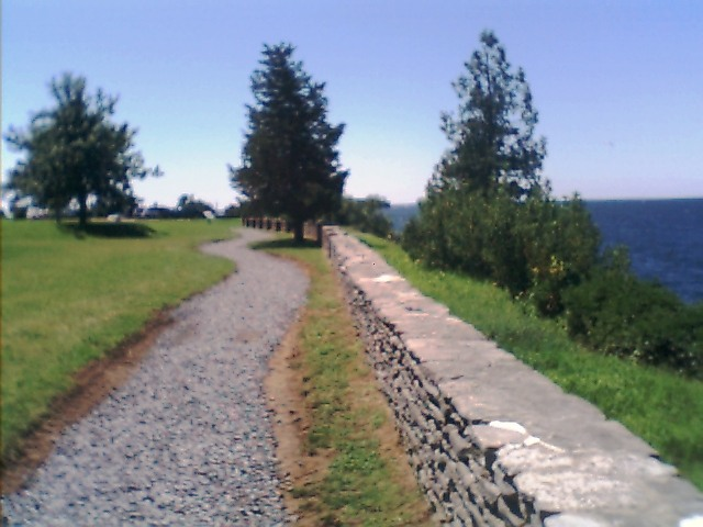 Sackets Harbor War of 1812 Bicentennial Trail, along the stone fence