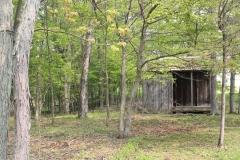 Primitive outhouse