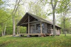Primitive cabin for rental
